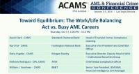 Toward Equilibrium: The Work/Life Balancing Act vs. Busy AML Careers