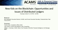 New Kids on the Blockchain: Opportunities and Issues of Distributed Ledgers