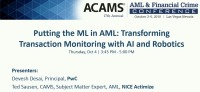 Putting the ML in AML: Transforming Transaction Monitoring with AI and Robotics