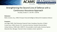 Strengthening the Second Line of AML Defense with a Continuous Assurance Approach