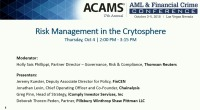 Risk Management in the Cryptosphere