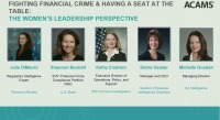 Fighting Financial Crime & Having a Seat at the Table: The Women's Leadership Perspective