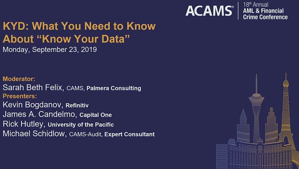 """KYD: What You Need to Know About """"Know Your Data"""""""