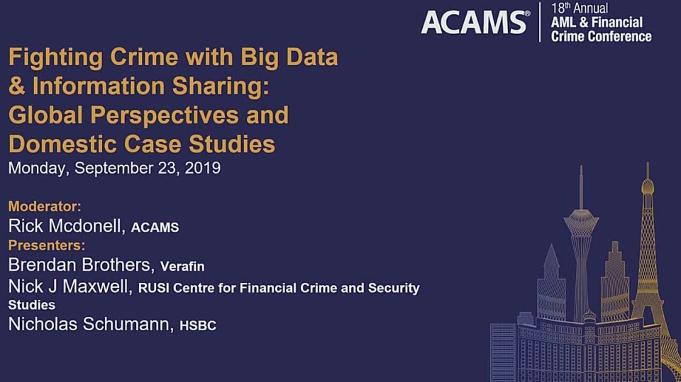 Fighting Crime with Big Data & Information Sharing: Global Perspectives and Domestic Case Studies