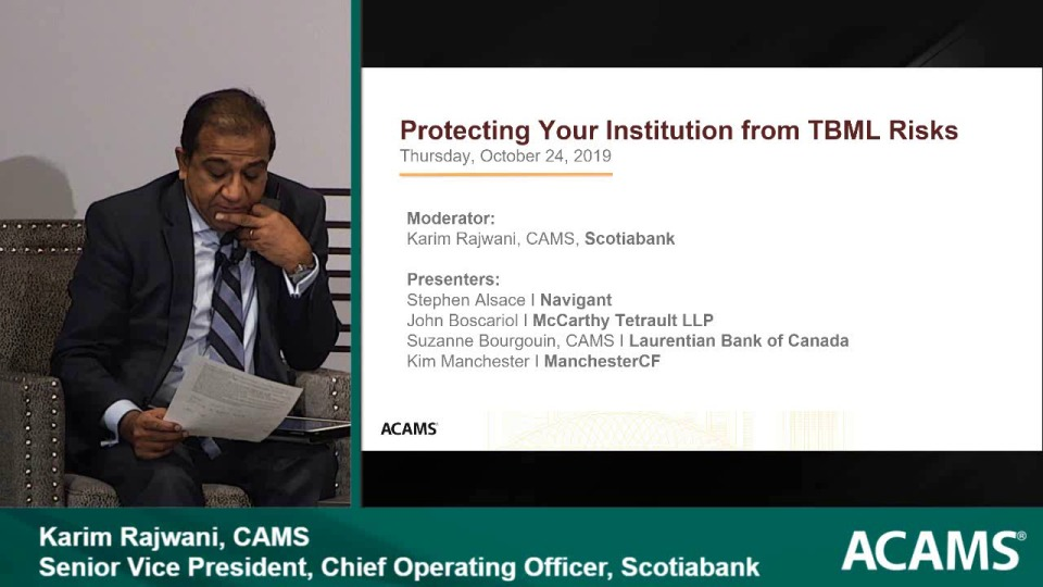 Compliance Summit: Protecting Your Institution from TBML Risks