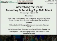 Assembling the Team: Recruiting and Retaining Top AML Talent