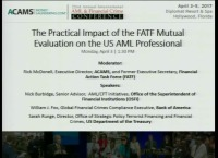 The Practical Impact of the FATF Mutual Evaluation on the US AML Professional