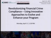 Revolutionizing Financial Crime Compliance - Using Innovative Approaches to Evolve and Enhance Your Program - Presented by EY