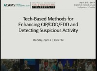 Tech-Based Methods for Enhancing CIP/CDD/EDD and Detecting Suspicious Activity