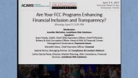 Are Your FCC Programs Enhancing Financial Inclusion and Transparency? - Presented by LexisNexis Risk Solutions