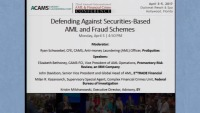 Defending Against Securities-Based AML and Fraud Schemes