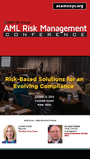 ACAMS 4th Annual AML Risk Management Conference