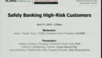 Safely Banking High-Risk Customers