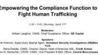 Empowering the Compliance Function to Fight Human Trafficking