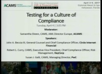 Testing for a Culture of Compliance