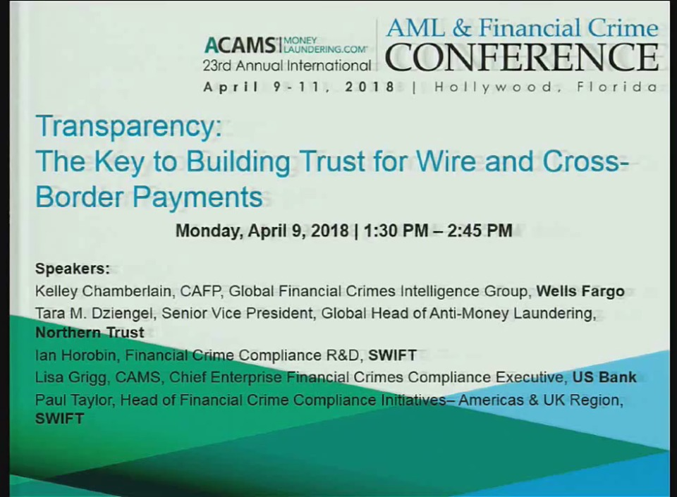 Transparency: The Key to Building Trust for Wire and Cross