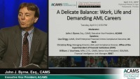 A Delicate Balance: Work, Life and Demanding AML Careers
