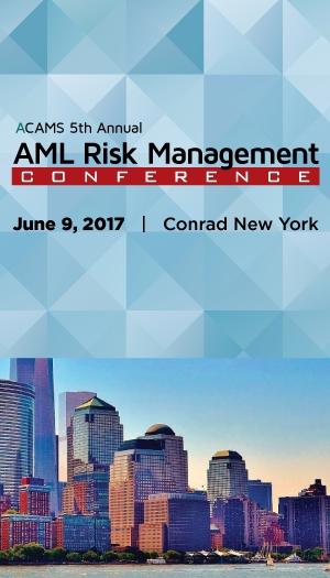ACAMS 5th Annual AML Risk Management Conference - New York City