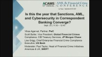 Is This the Year that Sanctions, AML, and Cybersecurity in Correspondent Banking Converge?