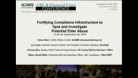 Fortifying Compliance Infrastructure to Spot and Investigate Potential Elder Abuse