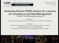 Securities: Analyzing Recent FINRA Actions for Lessons on Compliance and Risk Management