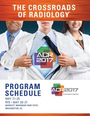 ACR 2017 The Crossroads of Radiology