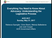 Advocacy 101 - An Introduction for First-Time Attendees