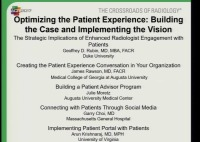 Optimizing the Patient Experience: Building the Case and Implementing the Vision