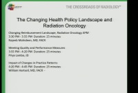 The Changing Health Policy Landscape and Radiation Oncology