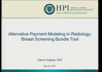 Data Tools and Trends for Informing Value-Based Radiologists' Practice