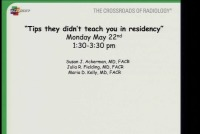 Tips They Didn't Teach You in Residency