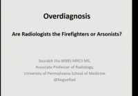 Overdiagnosis: Facts, Fight and Fallacies