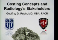 Understanding Costs in Radiology and Healthcare