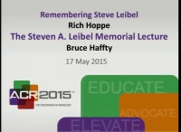 Steven Leibel Memorial  Lecture: Therapeutic Gain From Technologic Advances in Radiation Oncology