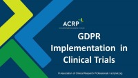 GDPR Implementation in Clinical Trials