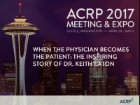 Signature Series Session -- When the Physician Becomes the Patient: The Inspiring Story of Dr. Keith Eaton