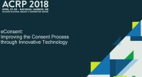 eConsent: Improving the Consent Process through Innovative Technology