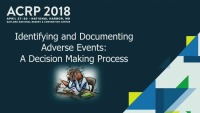 Identifying and Documenting Adverse Events: A Decision Making Process