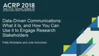 Data-Driven Communication: What it is and How You Can Use it to Engage Research Stakeholders