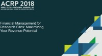 Financial Management for Research Sites: Maximizing Your Revenue Potential