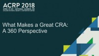 What Makes a Great CRA – A 360 Degree Perspective