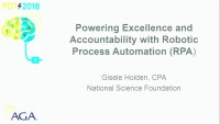S103: Powering Excellence and Accountability with RPA (FOS: IT)