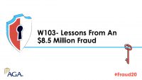 W103- Lessons from an $8.5 Million Fraud (FOS: BETH)