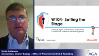 W104- Link Budget, Performance & Internal Control with ERM (FOS: FIN)