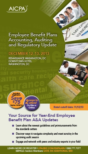 Employee Benefit Plans Accounting, Auditing and Regulatory Update 2013