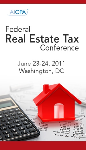 Federal Real Estate Tax Conference 2011