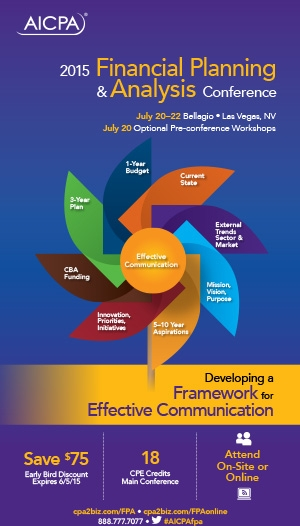 Financial Planning & Analysis Conference 2015