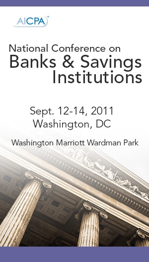 National Conference on Banks & Savings Institutions 2011