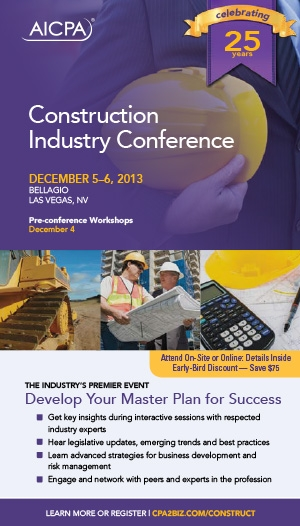 National Construction Industry Conference 2013