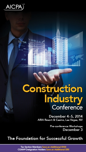 National Construction Industry Conference 2014 - Virtual
